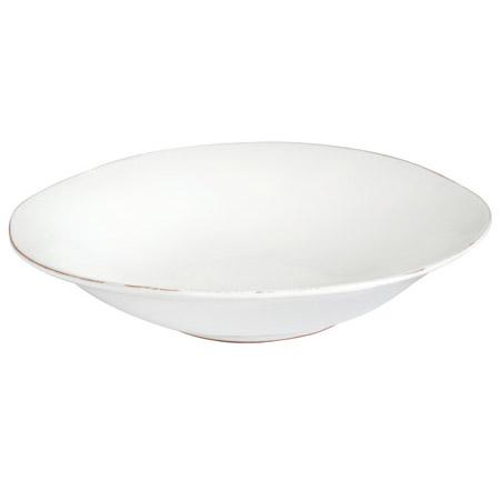 Vietri Bianco White Large Serving Bowl