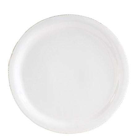 Vietri Bianco White Dinner Plate