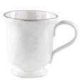 Vietri Bianco White Footed Mug