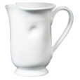 Vietri Bianco White Large Footed Pitcher