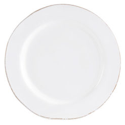 Vietri Bianco White Service Plate/Charger