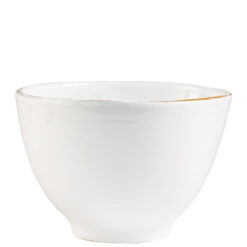 Vietri Bianco White Deep Serving Bowl