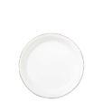 Vietri Bianco White Canape Plate