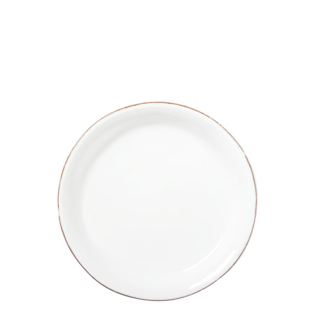 Vietri bianco white canape plate le cookery usa for Canape plate size