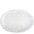 Vietri Bellezza White Medium Oval Platter