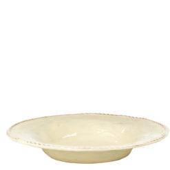 Vietri Bellezza Buttercream Pasta/Soup Bowl