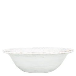 Vietri Bellezza White Cereal Bowl