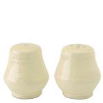Vietri Bellezza Buttercream Salt & Pepper Shakers