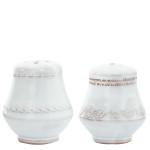 Vietri Bellezza White Salt & Pepper Shakers