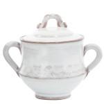 Vietri Bellezza White Sugar Bowl
