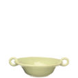 Vietri Bellezza Celadon Medium Handled Serving Bowl