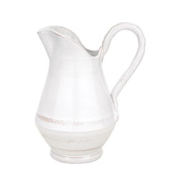 Vietri Bellezza White Small Pitcher