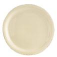 Vietri Crema Cream Dinner Plate
