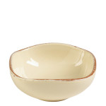 Vietri Crema Cream Condiment Bowl