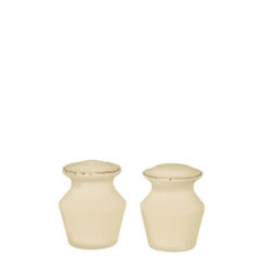 Vietri VIETRI Crema Cream Salt & Pepper Shakers