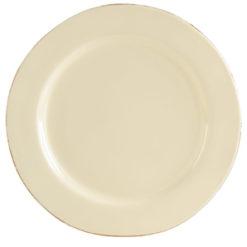 Vietri Crema Cream Service Plate/Charger