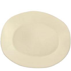 Vietri VIETRI Crema Cream Large Oval Platter