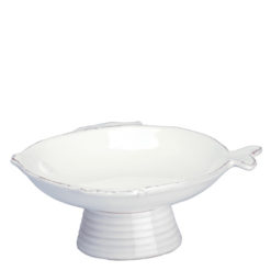 Vietri Lastra Fish Small Footed Compote Bowl