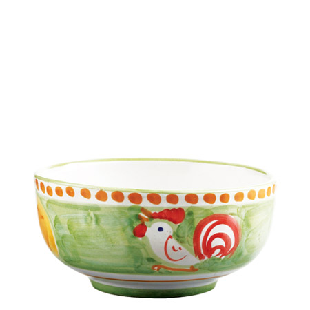 Vietri Gallina Cereal / Soup Bowl