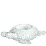 Vietri Incanto Mare White Turtle Votive Holder