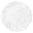 Vietri Incanto White Ruffle Service Plate/Charger