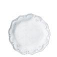 Vietri Incanto White Lace Salad Plate