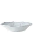 Vietri Incanto White Baroque Bowl