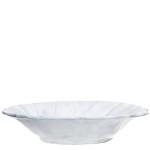 Vietri Incanto White Ruffle Bowl