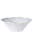 Vietri Incanto White Baroque Cereal Bowl