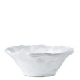 Vietri Incanto White Lace Cereal Bowl