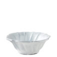 Vietri Incanto White Ruffle Cereal Bowl