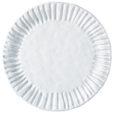 Vietri Incanto White Stripe Service Plate/Charger