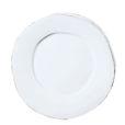 Vietri Lastra White Dinner Plate