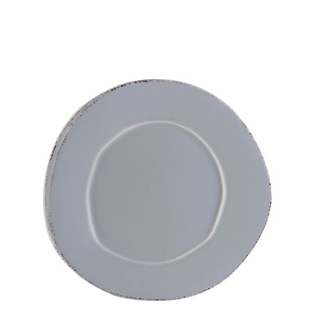 Vietri Lastra Gray Salad Plate