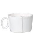 Vietri Lastra White Jumbo Cup