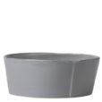 Vietri Lastra Gray Condiment Bowl