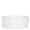 Vietri Lastra White Large Serving Bowl