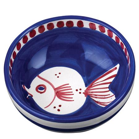 Vietri Pesce Olive Oil Bowl 1