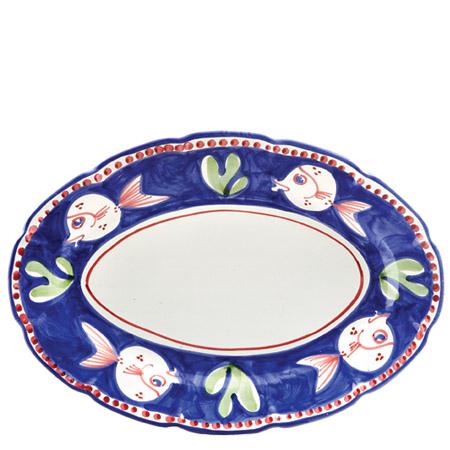 Vietri Pesce Oval Platter 1