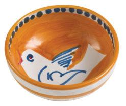 Vietri Uccello Olive Oil Bowl