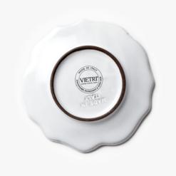 Vietri Bellezza Amore Plate - Back