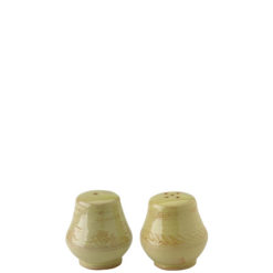Vietri Bellezza Celadon Salt & Pepper Shakers