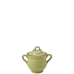 Vietri Bellezza Celadon Sugar Bowl