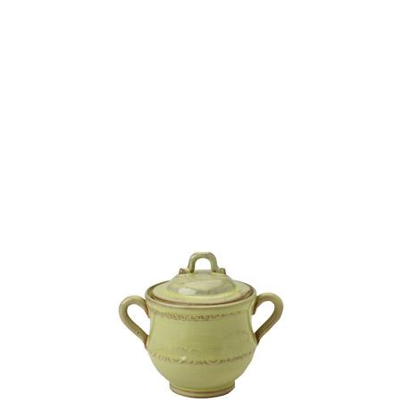 Vietri Bellezza Celadon Sugar Bowl