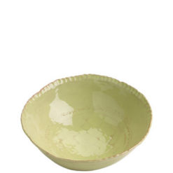 Vietri Bellezza Celadon Medium Deep Serving Bowl