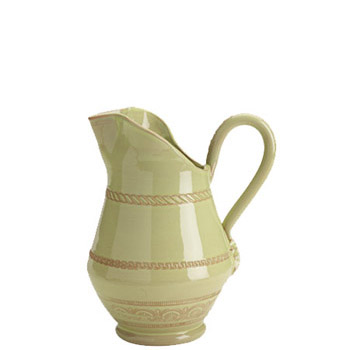 Vietri Bellezza Celadon Small Pitcher 1