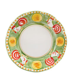 Vietri Gallina Dinner Plate