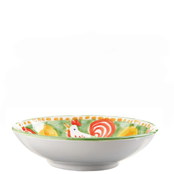 Vietri Gallina Coupe Pasta Bowl