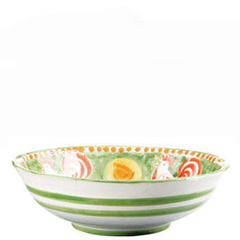 Vietri Gallina Large Serving Bowl
