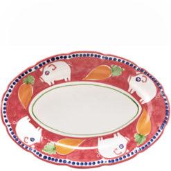 Vietri Porco Oval Platter